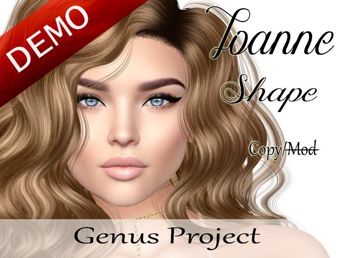 """Joanne Shape """"Genus Project Head"""" Demo"""
