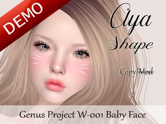 "Aya Shape ""Genus Project Head W001 Baby Face"" Demo"