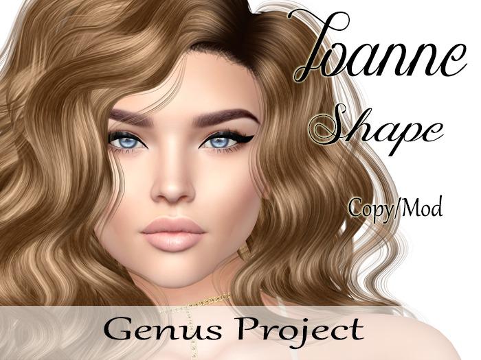 """Joanne Shape """"Genus Project Head"""""""