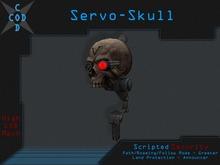 [COD] Servo-Skull (Security/Greeter/Path/Roaming/Announcer/Talk)