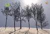 inVerse® MESH - Winter trees set  of 6