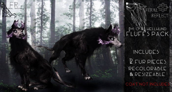 [Feral Reflect] HellHund Fur Pack