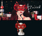 =Zenith=Venetian Style Masquerade Mask (Red)