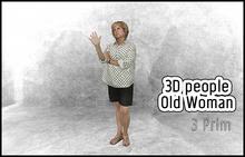 MESH PEOPLE - YO_V.Old-woman