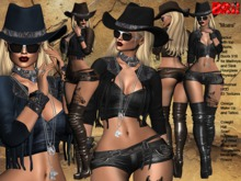 **MOARA ROCK COUNTRY STYLE UNIVERSAL HUD 3 TEXTURES OUTFIT**