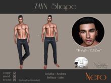 Nero - ZAYN shape - Lelutka/Jake