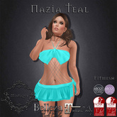 **Mistique** Nazia Teal (wear me and click to unpack)