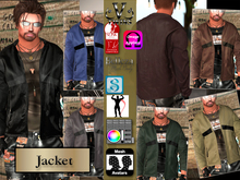 V-Twins Casual Clothes - Payback Color Jacket **MESH (Mesh Body Compatible)