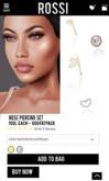 ROSSI. Nose Piercing Set- GOLD