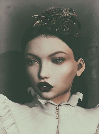 Dahlia - Winifred - headpiece - Fatpack