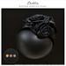 Dahlia - Winifred - headpiece - Black