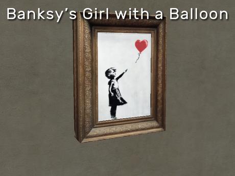 Banksy - Girl with a Balloon - Art Shredder