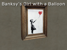 Banksy - Girl with a Balloon - Art Shredder