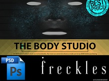 THE BODY STUDIO [ PSD / Freckles to Head ]