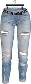 Addams - Belle - Boyfriend Ripped Jeans #18