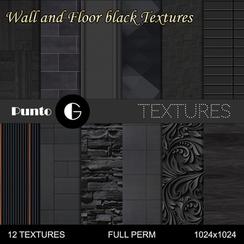 Wall and floor Textures [black]