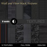 Wall and floor [black]