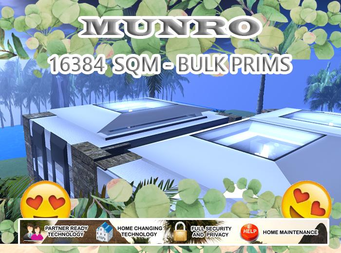 16384 SQM - Cheap Retreats w/bulk prims
