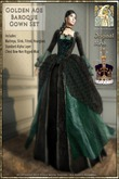 !!SMD!! Golden Age Baroque Gown Set