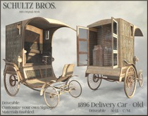 1896 Delivery Truck - Rusted