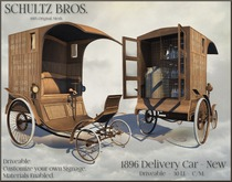 [Schultz Bros.] 1896 Delivery Truck New (Boxed)