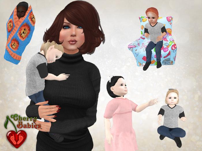 Cherry Baby V4 Ultimate Prim Babies