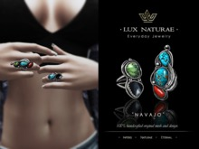 Lux Naturae: Turquoise Rings - NAVAJO