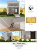 .:YN:. Small Modern House + Wall 50%OFF