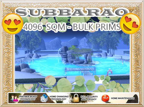 4096 SQM - Beach Neighborhood - Bulk Prims