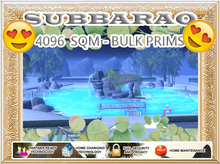 4096 SQM - Beach Neighborhood - Bulk Prims