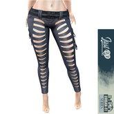 JustDD - Artemis Sci Fi Pants - BLACK (wear me)