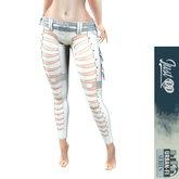 JustDD - Artemis Sci Fi Pants - WHITE (wear me)
