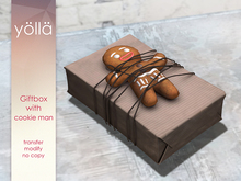 Giftbox with Cookie Man