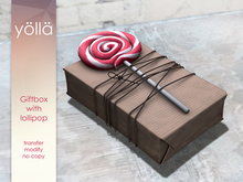 Giftbox with Lollipop
