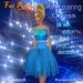 FaiRodis Paris's evening blue dress