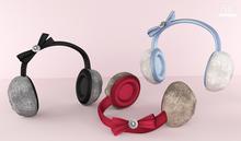 Bowtique - Jeweled Ribbon Earmuffs