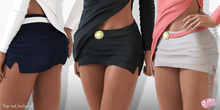Zina EXCLUSIVE Female  Skirt Mesh- MAITREYA LARA - FATPACK 30 Color HUD CB collection
