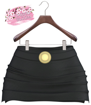 Zina EXCLUSIVE Female  Skirt Mesh- MAITREYA LARA - Black Color CB collection