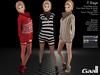 Seven Days Outfit - Maitreya Lara, Slink (P, H), Belleza (V, I, F). 7 Textures HUD.