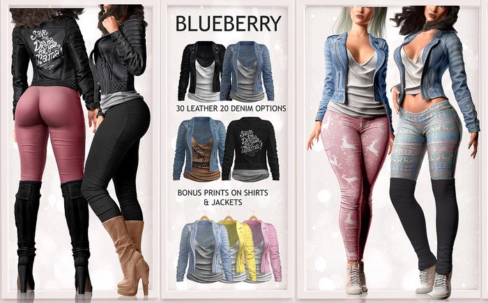 Blueberry - Julia Jackets - Fat Pack
