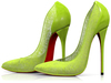 Garbaggio // Gia Pumps - Lime