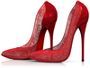 Garbaggio // Gia Pumps - Red