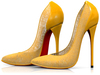 Garbaggio // Gia Pumps - Yellow