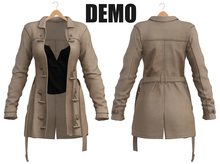 Blueberry - Cece - Trench Coats - DEMO