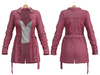 Blueberry - Cece - Trench Coats - Pink