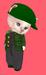 Dinkies boys green plaid 001