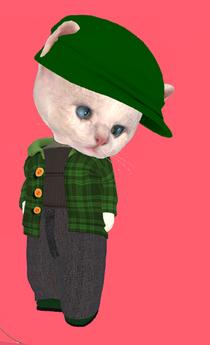 Lexxie Dinkies Green Plaid Combo