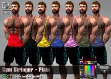 [GMan] TK - Gym Stringer - Plain
