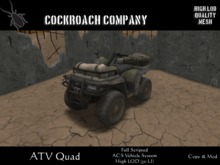 [COCKROACH] ATV Quad (Mesh)