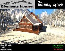 The Deer Valley Log Cabin